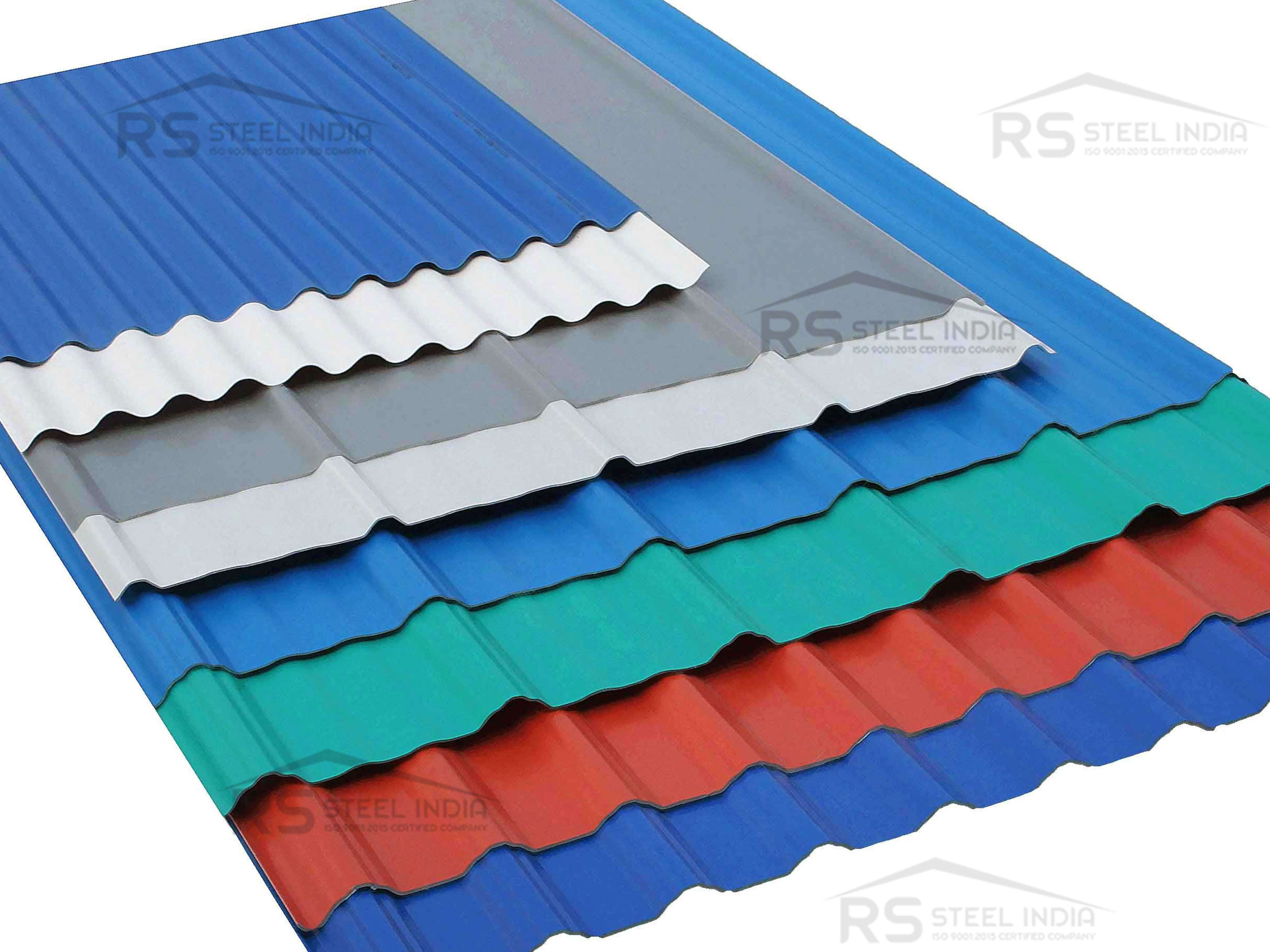 Roofing 7 cladding sheet